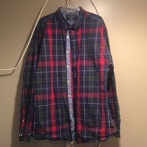 Nautica Flannel Button Down(ALWAYS OPEN TO OFFERS)